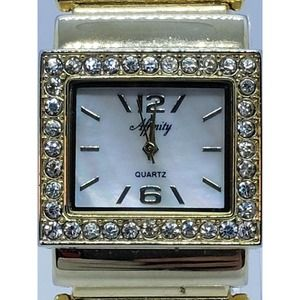 Affinity Womens Golden Bangle Watch 29mm
